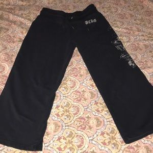 BCBGMaxAzria cropped sweat pants